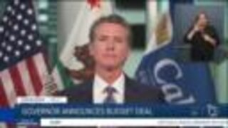 Newsom announces budget deal amid coronavirus outbreak