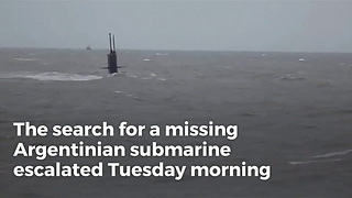 Search Grows More Urgent For Missing Submarine and 44 Crew Members, Only 7 Days Worth of Air - Video