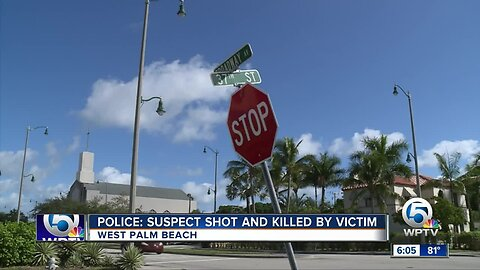 Armed suspect fatally shot while trying to rob 2 men in West Palm Beach