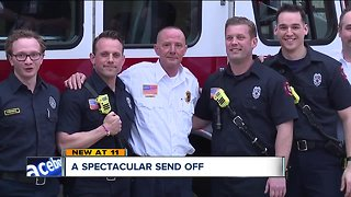 Olmsted Twp. firefighter retires after 35 years of service