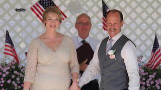 Gold Star mother gets married at Idaho Veterans Garden - Video