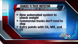 Arizona to use new system to check big rigs entering state - Video