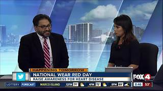 National wear red day - Video