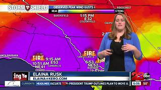 Thomas Fire: Red Cross evacuation relief - Video