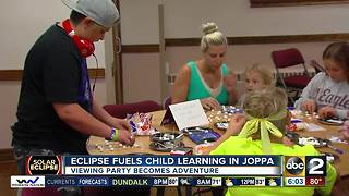 Eclipse becomes a child learning tool in Joppa - Video