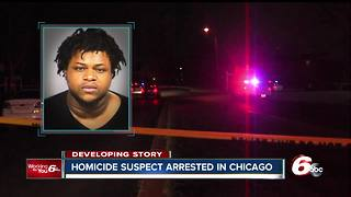 Indianapolis homicide suspect arrested in Chicago - Video