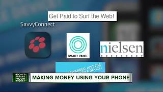 Making money using your phone - Video