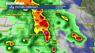 Strong storms possible Thursday night