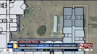 New storm shelter at Tulsa elementary school