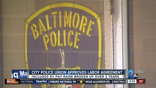 Baltimore police union votes to accept proposed labor contract