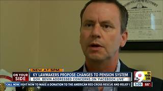 Retired Covington firefighter: Pension cutbacks 'like a slap in the face' - Video