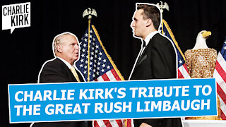 Charlie Kirk's Tribute To The Great Rush Limbaugh