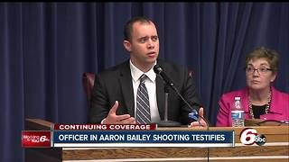Officer in Aaron Bailey shooting: 'I thought I was going to die that night' - Video