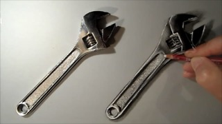 How to draw a wrench - Video