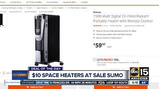Deal of the Day: Get a space heater for $10 - Video
