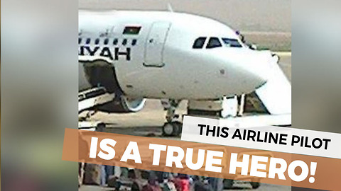 Pilot Becomes A Hero During This Inspiring Situation