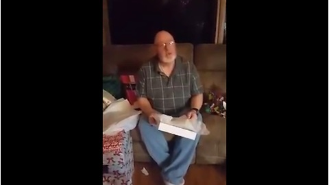 Emotional Christmas surprise: Will you adopt me?