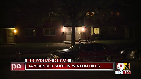 14-year-old shot in Winton Hills