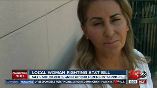 Local woman fighting bill for unwanted satellite TV services - Video