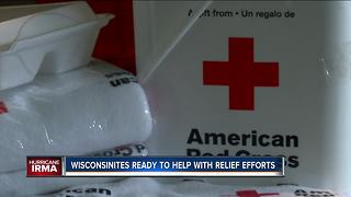 130 Wisconsinites helping with Harvey relief, Irma preparations - Video