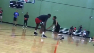 Victor Oladipo Gets EMBARRASSED at His Own Training Camp by a 12-Year Old - Video