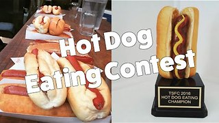 Extreme-Eating Model Takes on Hot Dog Challengers - Video