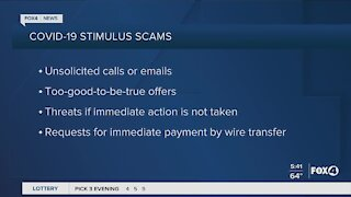 Stimulus check scams