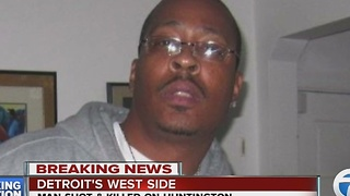 Preacher and father of five shot & killed on Detroit's west side