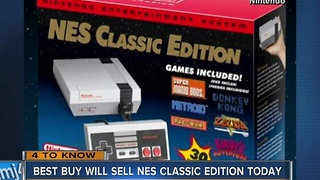 Best Buy offers classic Nintendo system only on Tuesday - Video