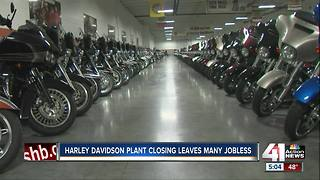 Harley-Davidson to close Kansas City assembly plant in 2019 - Video