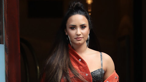 Demi Lovato Spotted Out Of Rehab With New Boyfriend