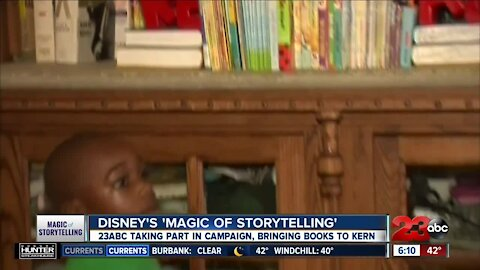 "23ABC teams up with Kern Literacy Council for Disney's ""Magic of Storytelling"" campaign"