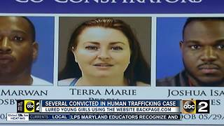 Several convicted in human trafficking - Video