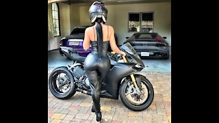 AMAZING Superbikes Girl