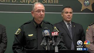 Martin County Sheriff William Snyder concerned I-95, Florida Turnpike 'awash in illicit drugs' - Video