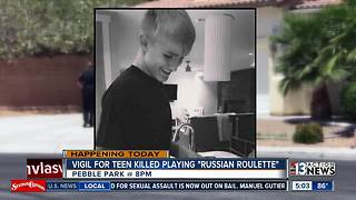 Vigil planned for Henderson teen killed playing Russian Roulette - Video