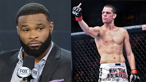 Tyron Woodley Says Nate Diaz is SCARED to Fight Him at UFC 219