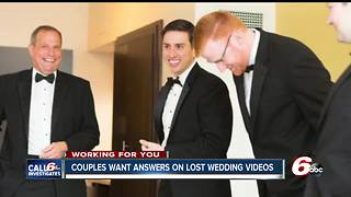 Couples' missing wedding videos, albums located - Video
