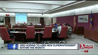 OPS hopes to name superintendent by end of month - Video