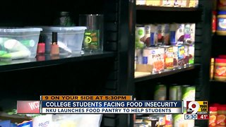 College students facing food insecurity