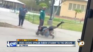 VIDEO: Officer tackles handcuffed 17-year-old student to ground at Helix HS - Video