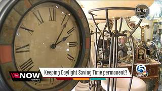 Keep Daylight Saving Time permanent