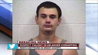 PD: Erlanger kidnapping suspect in custody - Video