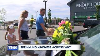 Sprinkling kindness across Western New York - Video