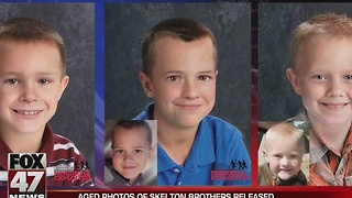 Progression photos released for missing brothers - Video