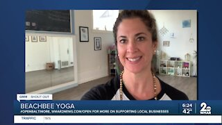 Beachbee Yoga is open for business!