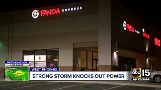 Strong storms knock out power to thousands around the Valley - Video