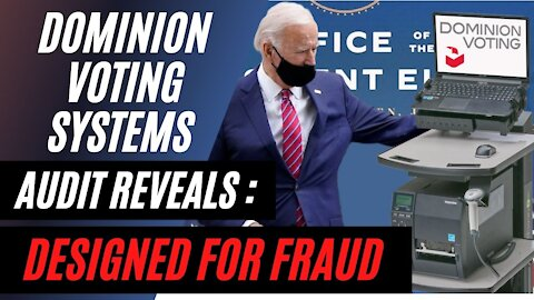Dominion Voting Systems AUDIT Reveals they are DESIGNED for FRAUD 68.05% Error in Michigan County!