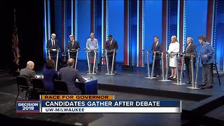 Candidates confident after Democratic gubernatorial debate - Video