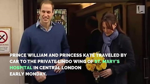 Prince William & the Duchess of Cambridge Welcome Royal Baby Number 3